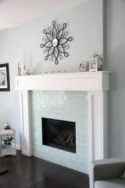 Subway Tile Backsplash In Kitchen Best 20 Subway Tile Fireplace Ideas On Pinterest White