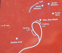 Arches National Park Map Arches National Park Map High Quality Maps Of Arches National Park