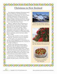 free worksheets christmas reading comprehension worksheet free