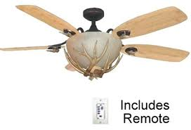 rustic ceiling fans with lights and remote best ceiling fans rustic mesa vista rustic ceiling fan with antler