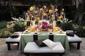 decoration florale mariage décoration de mariage jaune