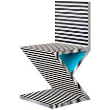 Mid Century Modern Homes For Sale Memphis by Memphis Inspired Chair Neo Laminati Collection For Sale At 1stdibs