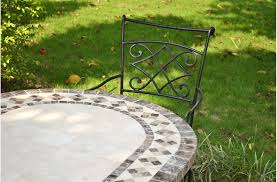 Oval Wrought Iron Patio Table 71