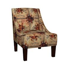 venda sloped arm chair featuring here there be monsters talking