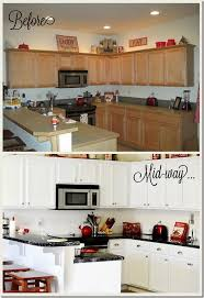 Kitchen Makeover Before And After - pretty before and after kitchen makeovers