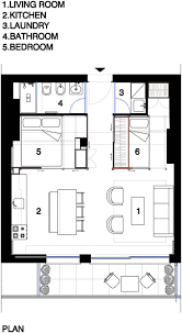 top 25 best small apartment plans ideas on pinterest studio small 40 sq m beach apartment in france with modern galley kitchen flexible sleeping
