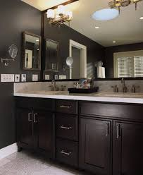bathrooms with dark cabinets space for bathrooms cabinet