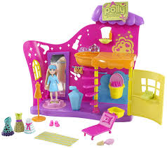 amazon polly pocket color change makeover salon playset toys