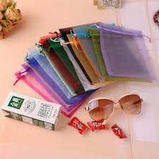 wholesale organza bags aliexpress buy 25x35cm 10pcs lot mix colors wholesale