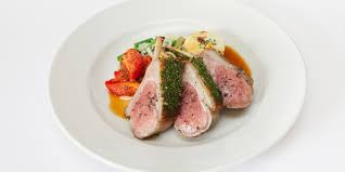 how to prepare a rack of lamb with a crust great british chefs