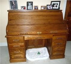 Small Oak Roll Top Desk Roll Top Desks For Computers Eatsafe Co