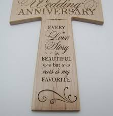 5 year anniversary gifts for 5th wedding anniversary maple wood wall cross gift for 5