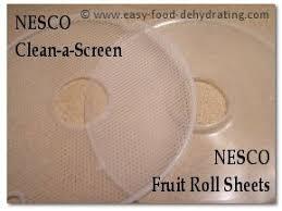 roll sheets nesco food dehydrator