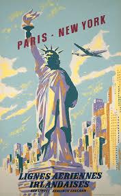 New York travellers images 39 best vintage poster art images vintage airline jpg