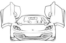 100 ideas coloring pages ferrari cars halloweencolor