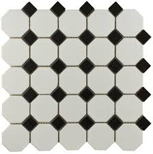 inspirational black and white mosaic floor tile 31 with additional