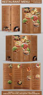 customizable menu templates 19 best menu template images on menu templates
