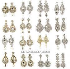 Sparkly Chandelier Earrings Gold Chandelier Earrings Ebay