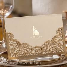 wedding card from groom to classic and groom laser cut wedding cards iwsm007 wedding