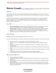 Account Executive Resume Example by Film Resume Template Acting Resume Sample Presents Your Skills