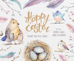 happy easter cards watercolor happy easter cards design cuts design cuts