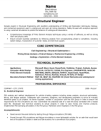 structural engineer resume sample free resumes tips