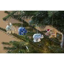 elephant parade silver bells christmas tree ornament