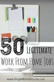 50 legitimate work from home job opportunities at terrywilson3