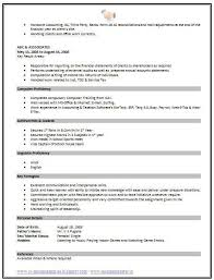std resume format standard resume templates to impress any