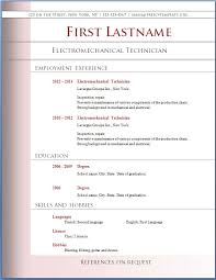 Sample Resume Format Download by Resume Template Download Berathen Com
