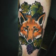 fox tattoo done by chris shockley at empire tattoo clementon nj