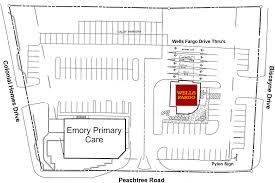 Wells Fargo Floor Plan Atlanta Ga 2200 Peachtree Retail Space Coro Realty Advisors