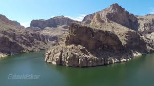 Arizona Lakes images Aerial canyon lake arizona jpg