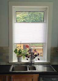 Pleated Blinds Child Safe Floating White Pleated Blinds For Upvc Windows No