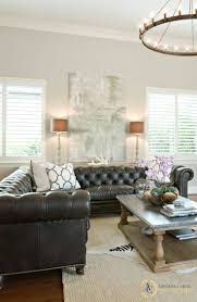 living room endearing pottery barn tufted leather sofa overstock