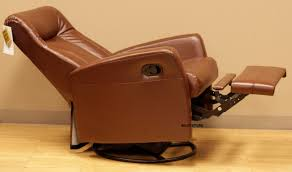 Leather Rocker Recliner Barcalounger Grissom Ii Swing Rocker Glider Recliner Lounger Chair