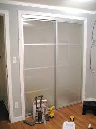 Installing A Closet Door Mirrored Closet Doors Makeover Ppi