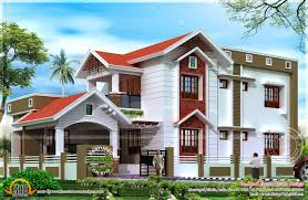 Kerala Home Design Contact by 2401 Square Feet Nice House Renderings Kerala Home Design And