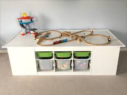 Kids Activity Table With Storage Kids Activity Table U2013 The Baby And The Bulldog