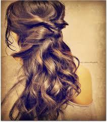 half up half down inverted ponytail twist updo long hair tutorial