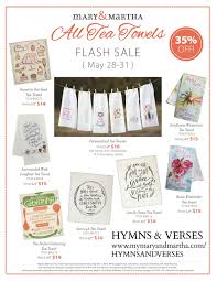 mary and martha memorial day sale hymns and verses