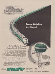 1951 kiekhaefer mercury outboard motors ad the super 10 hp