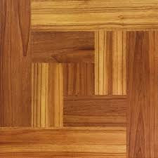 Laminate Floor Tiles Home Depot Trafficmaster Brown Wood Parquet 12 In X 12 In Peel And Stick