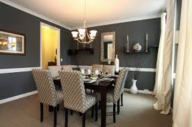 home design interesting red accent wall color combined dining
