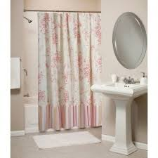 Themed Fabric Shower Curtains Seashell Fabric Shower Curtain Foter