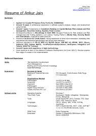 Wpf Developer Resume Sample by Ankur Jain Resume