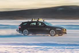 2018 jaguar xf sportbrake sets record for fastest towed speed on ski