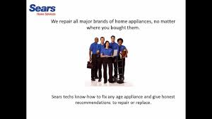 sears home services appliance repair service by sears home services