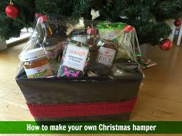 Make Your Own Gift Basket How To Make Your Own Christmas Hamper Planning With Kids
