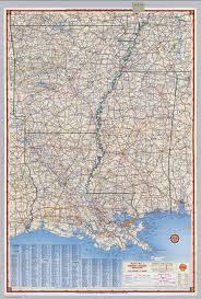 Map Of Louisiana Purchase by Shell Highway Map Of Arkansas Louisiana Mississippi David
